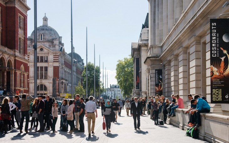 PIc A Exhibition Road outside Science Museum - credit Discover South  Kensington (1).jpg