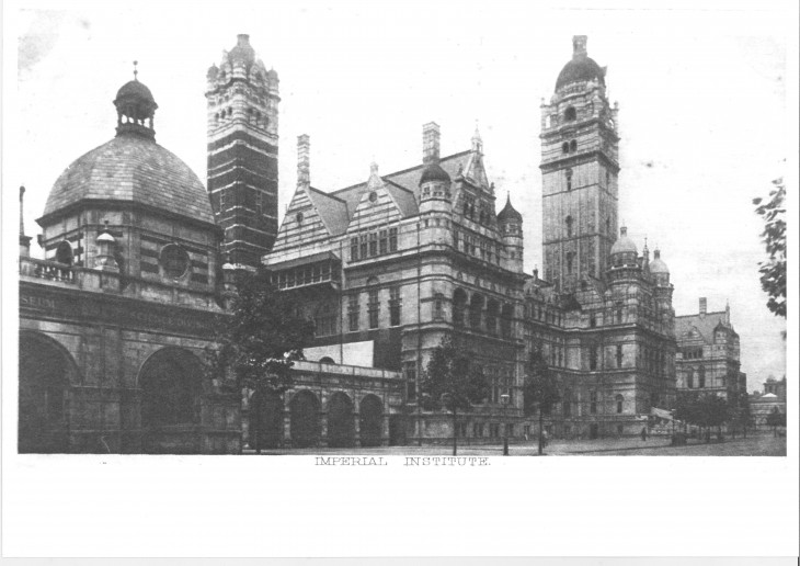 Pic F Imperial Institute Exhibition Road now demolished apart from large tower.jpg
