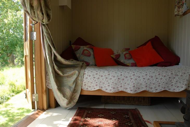 Shepherd's Hut B&B dayroom.JPG