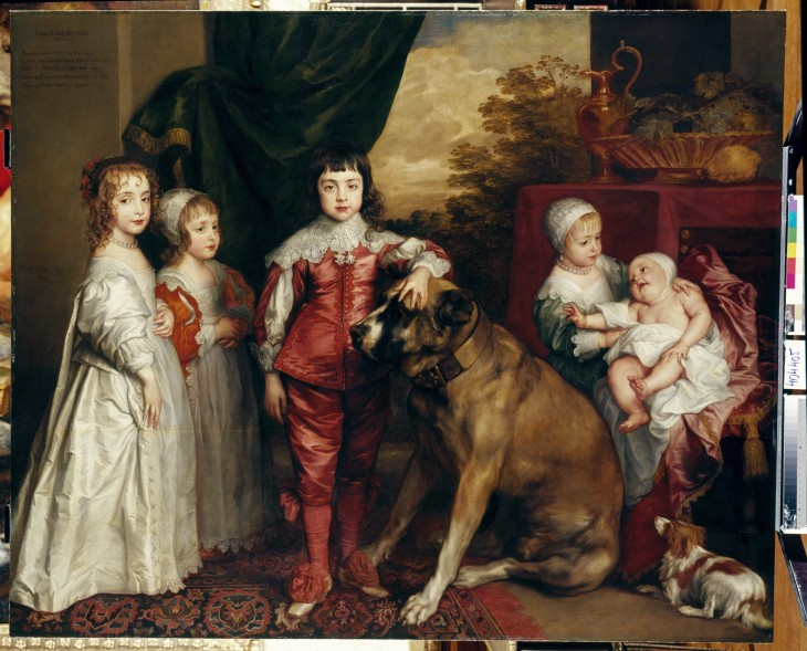 3 Sir Anthony van Dyck, The Five Eldest Children of Charles Royal Collection Trust© Her Majesty Queen Elizabeth II 2018.jpg