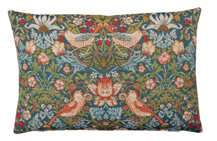 Strawberry Thief Tapestry cushion ©National Trust Shop.jpg