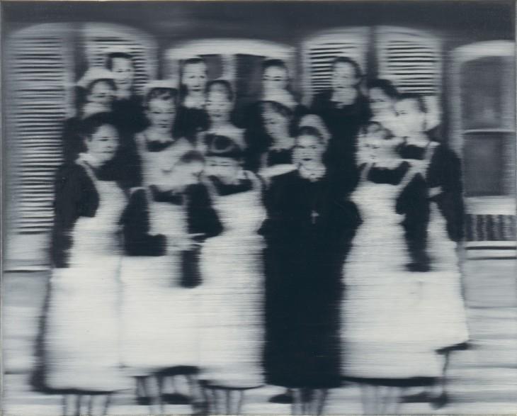 Gerhard Richter. Krankenschwestern, 1965
