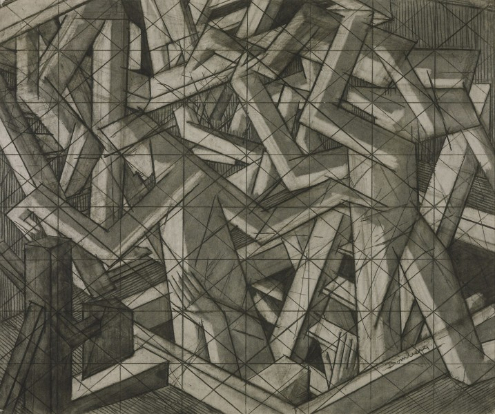 Study for In the Hold, 1913-14